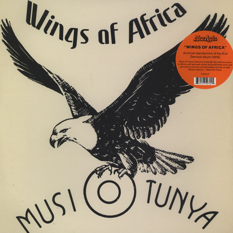 Rikki Illilonga & Musi-O-Tunya - Wings Of Africa