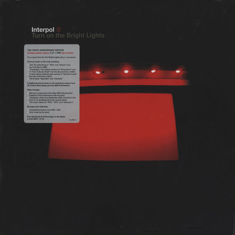 Interpol - Turn On The Bright Lights: 10th Anniversary Edition
