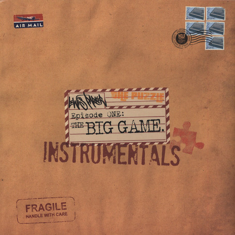 Lewis Parker - The Puzzle: Episode One - The Big Game Instrumentals