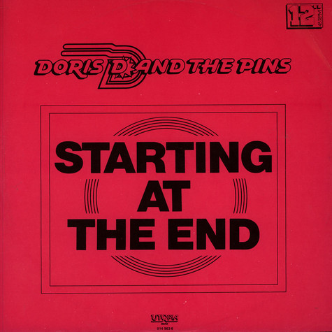 Doris D And The Pins - Starting At The End