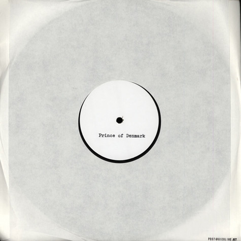 Prince Of Denmark (Traumprinz) - To The Fifty Engineers