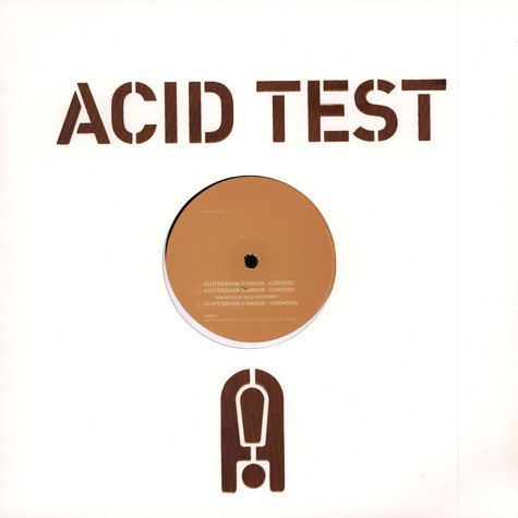 Achterbahn D'Amour - Acid Test 6