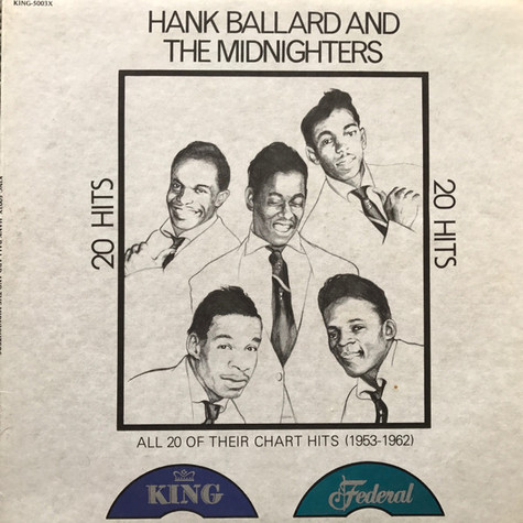 Hank Ballard & The Midnighters - 20 Hits: All 20 Of Their Chart Hits (1953-1962)