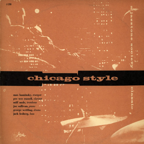 Max Kaminsky And His Windy City Six - Chicago Style