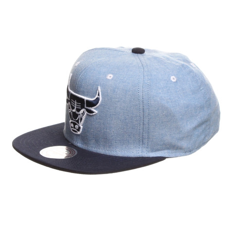 Mitchell & Ness - Chicago Bulls NBA Chambray 2 Snapback Cap