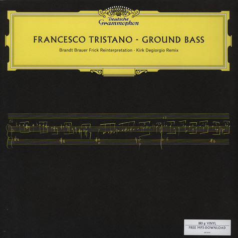 Francesco Tristano / Brandt Brauer Frick / Degiorgio - Ground Bass Remixes