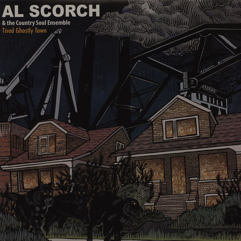 Al Scorch / Country Soul Ensemble - Tired Ghostly Town