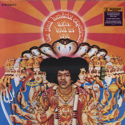 Jimi Hendrix Experience - Axis: Bold As Love - Mono Version