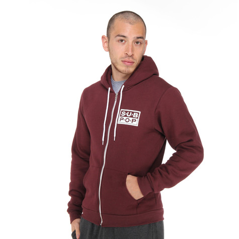 Sub Pop - Logo Zip-Up Hoodie