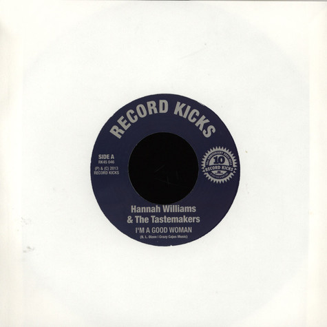 Hannah Williams & The Tastemakers / Susan Cadogan & The Crabs Corporation - I'm A Good Woman / Day After Day