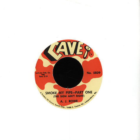 J Rowe - Smoke My Pipe (The Sign Ain't Right) Parts 1&2