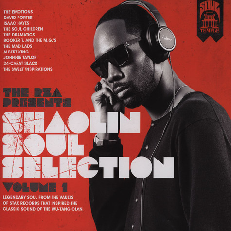 RZA presents - Shaolin Soul Selections Volume 1