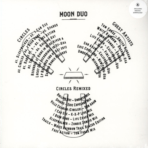 Moon Duo - Circles Remixed