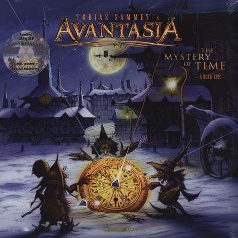 Avantasia - The Mystery Of Time Picturedisc