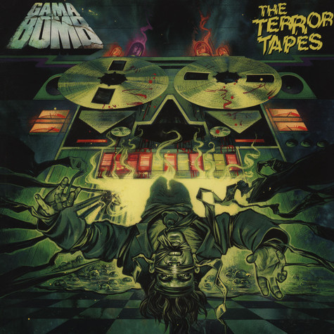 Gama Bomb - The Terror Tapes Black Viny Edition