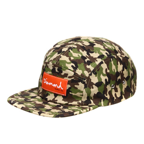 Diamond Supply Co. - OG Script 5 Panel Cap