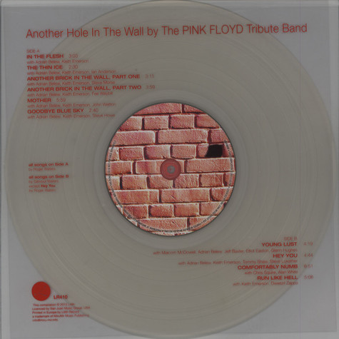 Pink Floyd Tribute Band, The - Another Hole In The Wall
