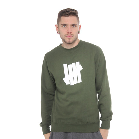 Undefeated - 5 Strike Basic Pullover Crewneck Sweater