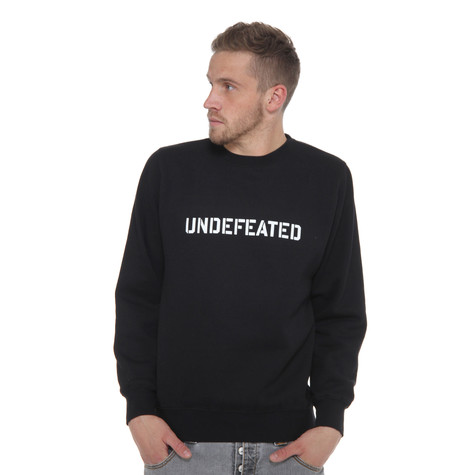 Undefeated - Undefeated Stencil Basic Pullover Crewneck Sweater