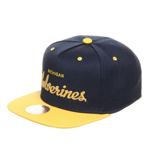 Mitchell & Ness - Michigan Wolverines NCAA Sonic Snapback Cap