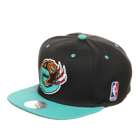 Mitchell & Ness - Vancouver Grizzlies NBA Black 2 Tone Snapback Cap