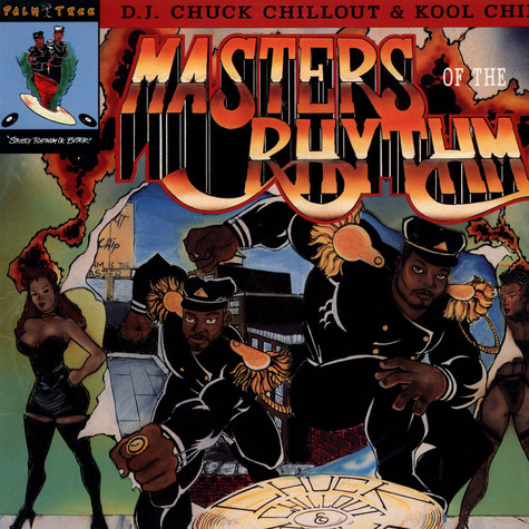 Chuck Chillout & Kool Chip - Masters Of The Rhythm