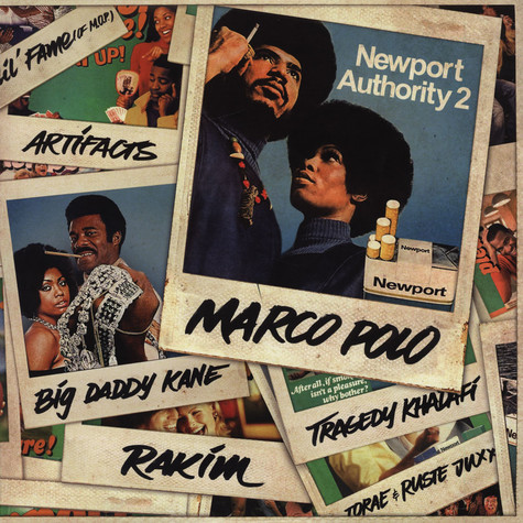 Marco Polo - Newport Authority 2 Grey Vinyl Edition
