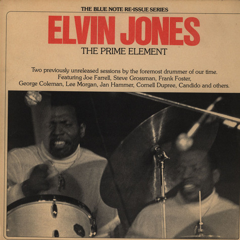 Elvin Jones - The Prime Element