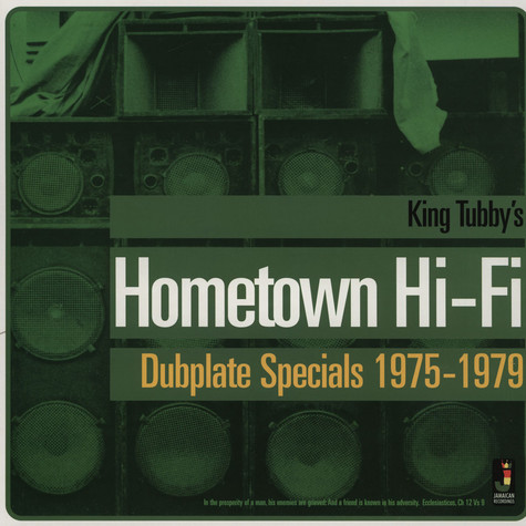 King Tubby - Hometown Hi-Fi Dubplate Specials 1975-79