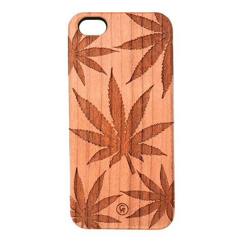 Good Wood NYC - 420 Allover Print iPhone 5 Case