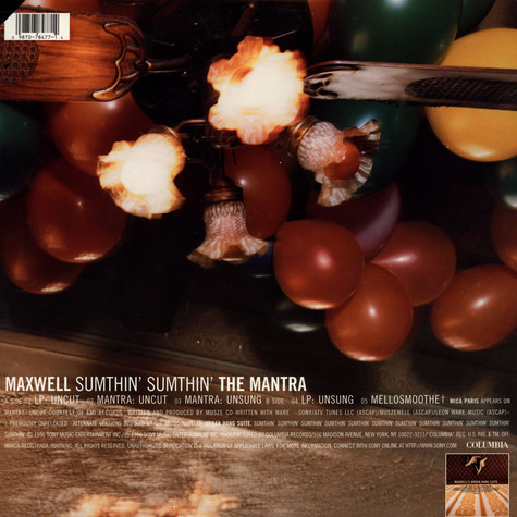Maxwell - Sumthin' Sumthin' The Mantra