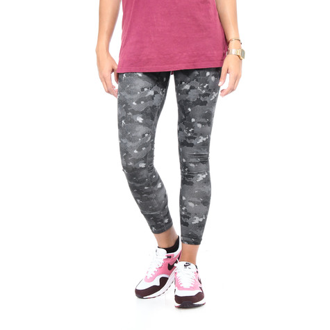 402424e22f3a4 Nike - Leg-A-See-AOP Leggings (Dark Grey / White) | HHV