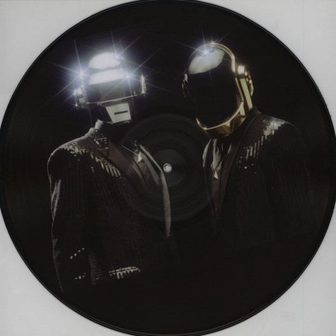 Daft Punk - Get Lucky Remixes Part 1 Feat. Pharrell Williams & Nile Rogers Picture Disc Edition