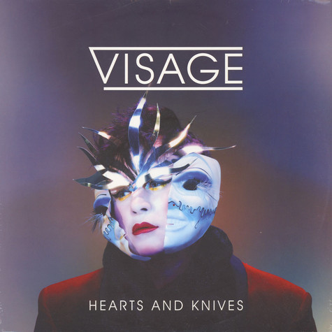 Visage - Hearts & Knives Colored Vinyl