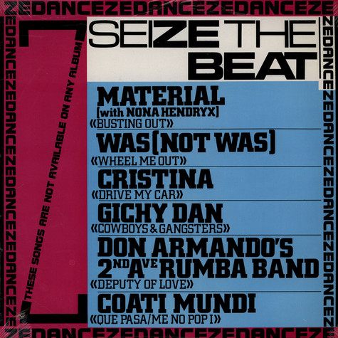 V.A. - Seize The Beat (Dance Ze Dance)