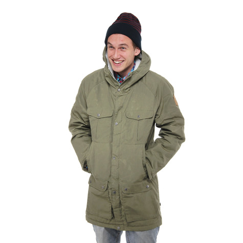98e67eee Fjällräven - Greenland Winter Parka (Green) | HHV