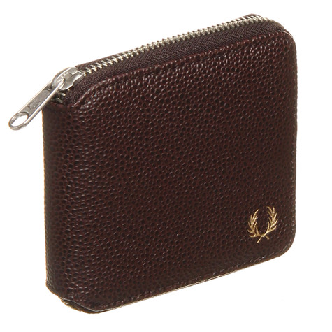 Fred Perry - Scotch Grain Zip Around Wallet