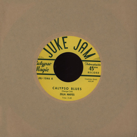 Zilla Mays / Ray Johnson - Calypso Blues
