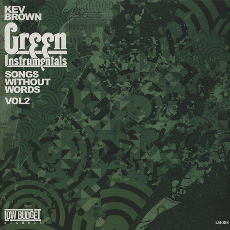 Kev Brown - Songs Without Words Volume 2: Green Instrumentals