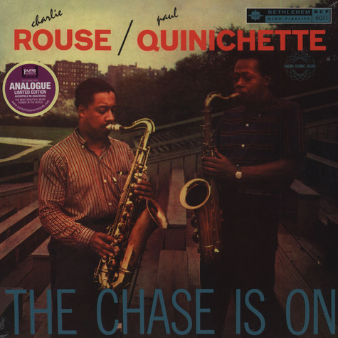 Paul Quinchette & Charlie Rouse - The Chase Is On