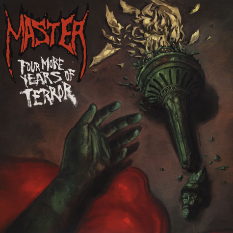 Master - Four More Years Of Terror Red Vinyl Edition