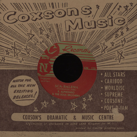 Roland Alphonso & Soul Brothers / Tommy McCook - Sca-Balena / Two For One