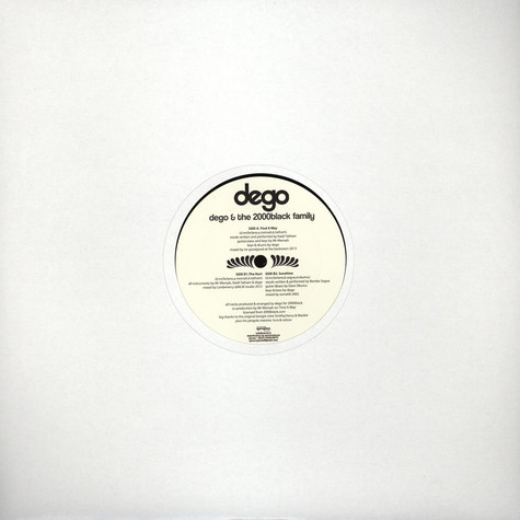 Dego & The 2000black Family - EP