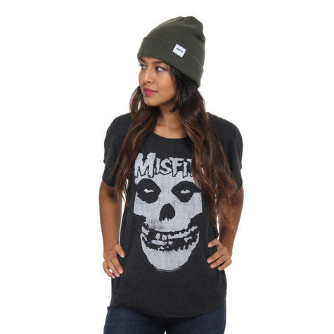 Misfits - Distressed Skull Women T-Shirt