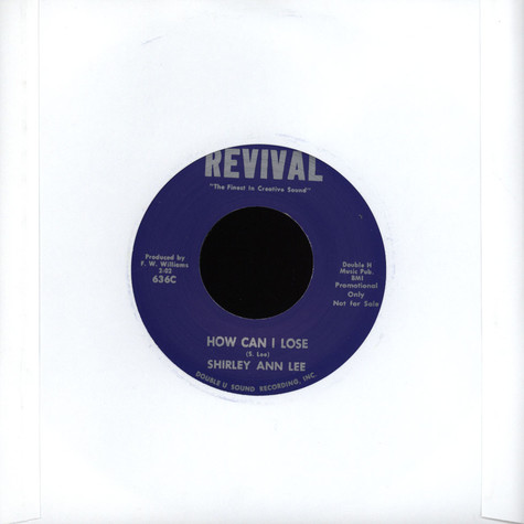 Shirley Ann Lee - How Can I Lose / There's A Light