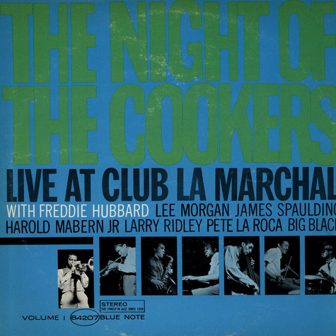 Freddie Hubbard - The Night Of The Cookers - Live At Club La Marchal - Volume 1