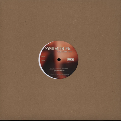 Population One (Terrence Dixon) - Untitled EP