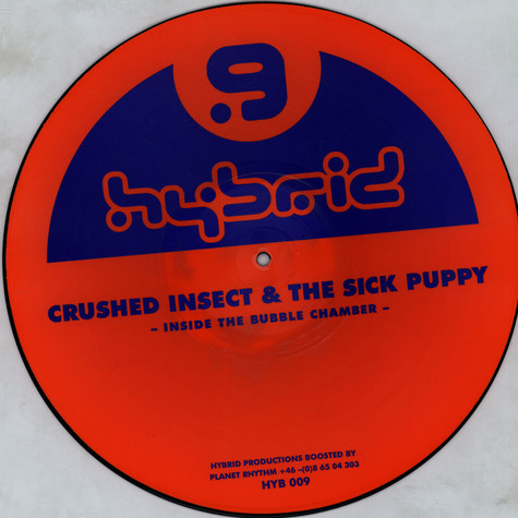 Crushed Insect & The Sick Puppy - Inside The Bubble Chamber