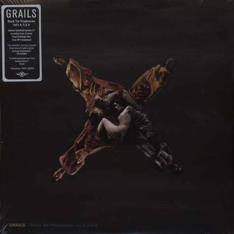 Grails - Black Tar Prophecies Vols. 4, 5 & 6 Deluxe Version