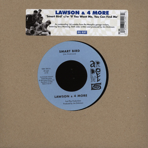 Lawson & 4 More - Smart Bird / If You Want Me You Can Find Me
